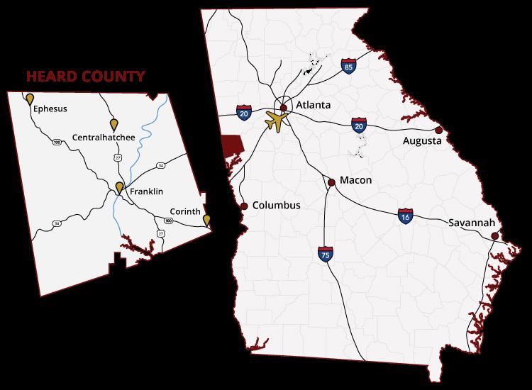 Heard County Georgia
